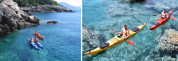 kayaking in croatia dalmation coast