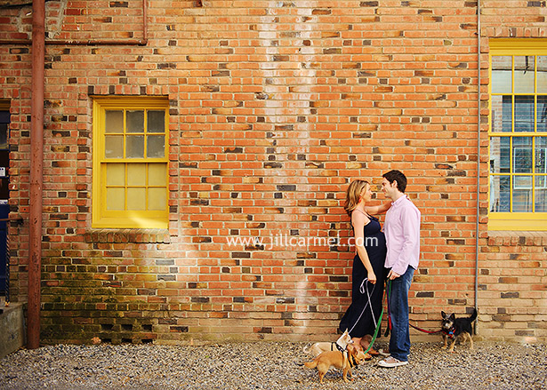 anthropologie inspired maternity session