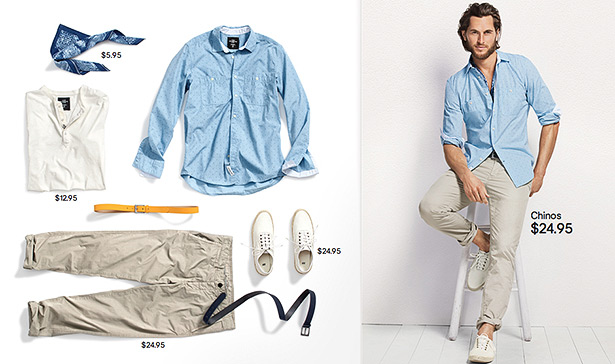 what to wear men summer 2012