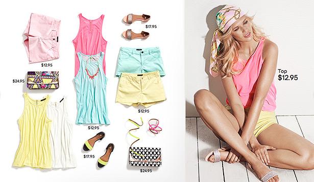 what to wear women summer 2012