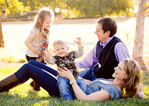 this family is a great example for helping with clothing ideas for the portrait session