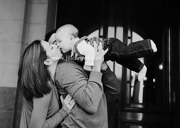 sacramento family holiday portraits