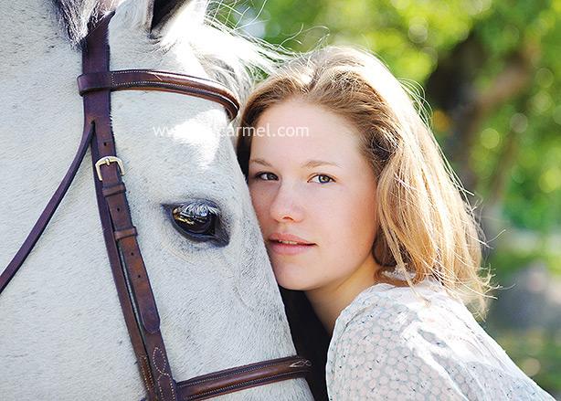 horse senior portriats