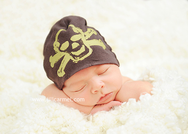 a little skull and crossbones never hurt a baby picture!