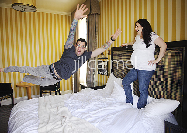 jumping pictures at the citizen hotel