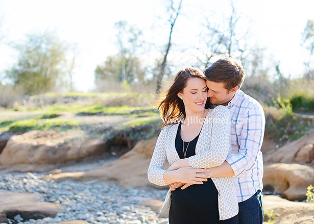 william b pond maternity portrait session images