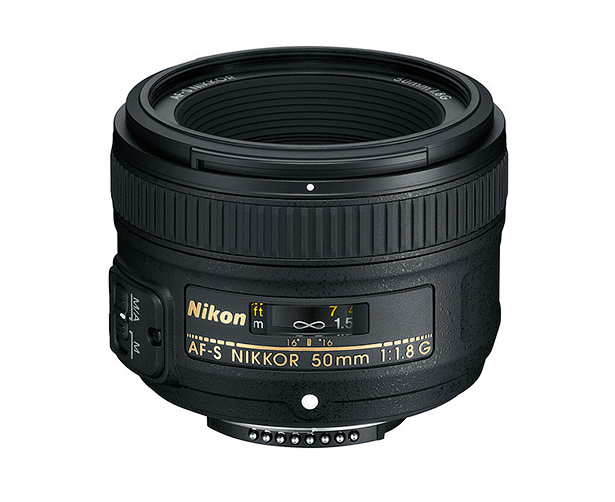 nikkor 50mm lens is great for portraits and low light