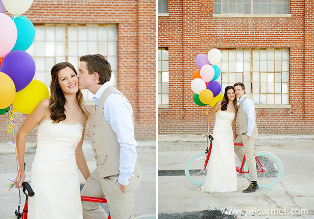 anthropologie inspired mess the dress session with a bicycle and balloons at old sugar mill sacramento