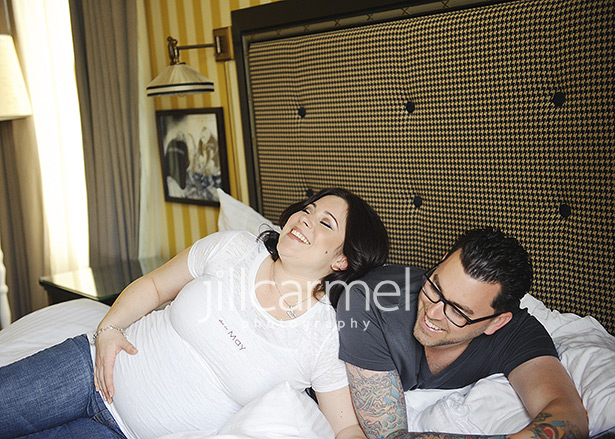 pregnancy photography at the citizen hotel