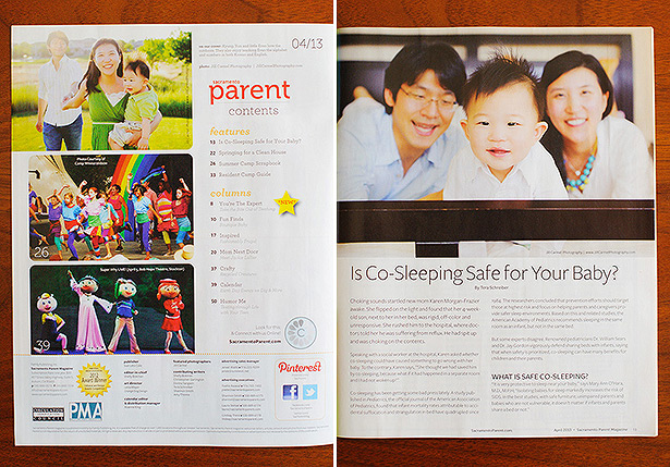 published co sleeping issue april 2013