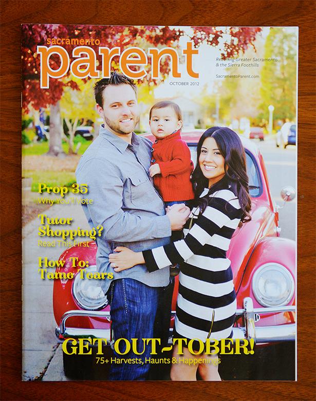 sacramento parent magazine published october 2012
