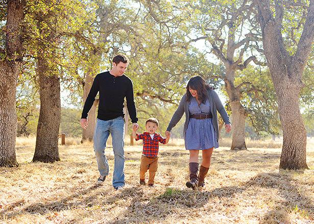 fair oaks sacramento fall family mini session