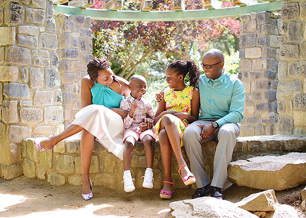 Land Park sacramento family holiday mini sessions