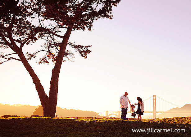 san francisco fall family pictures