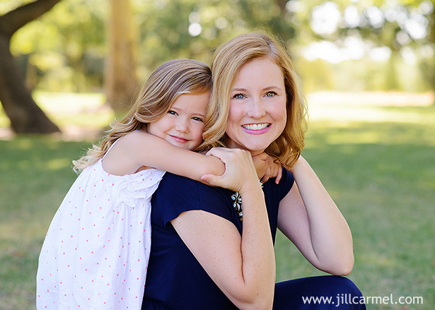 mother and daughter summer portrait