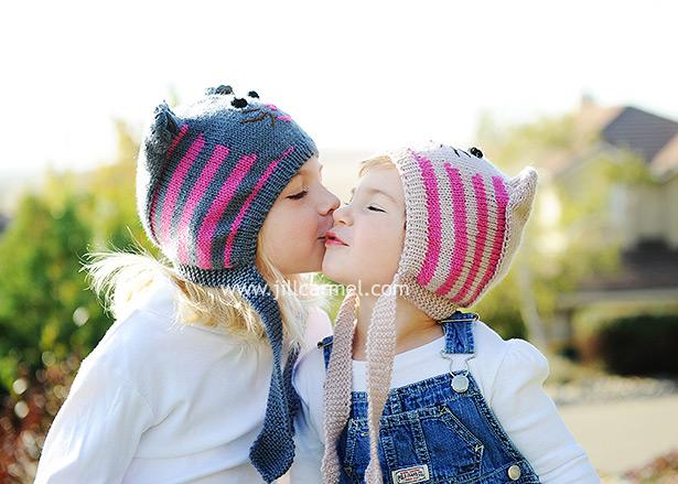 stylish little girls for their el dorado hills family portrait
