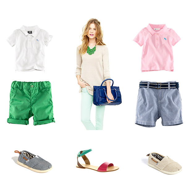 what to wear for your sacramento spring summer photography session with mint jeans chambray shoes and toms