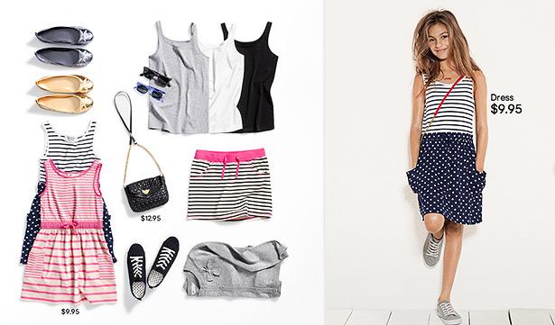 what to wear girls summer 2012