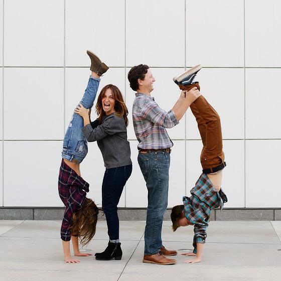 fun family photos at the crocker art museum