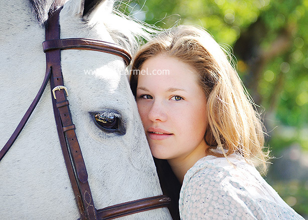 High School Senior Portraits A Girl And Her Horse