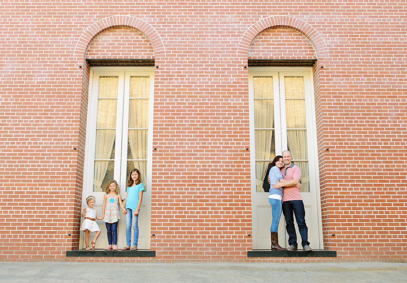 beautiful brick backgrounds in old sacramento