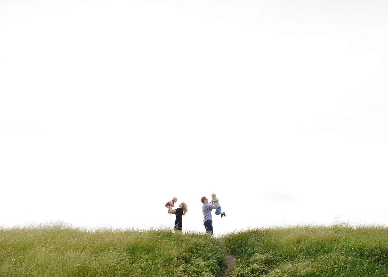 big sky family photos in sacramento
