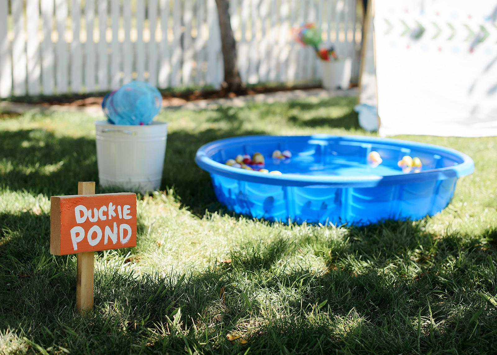 Summer Camp Duckie Pond