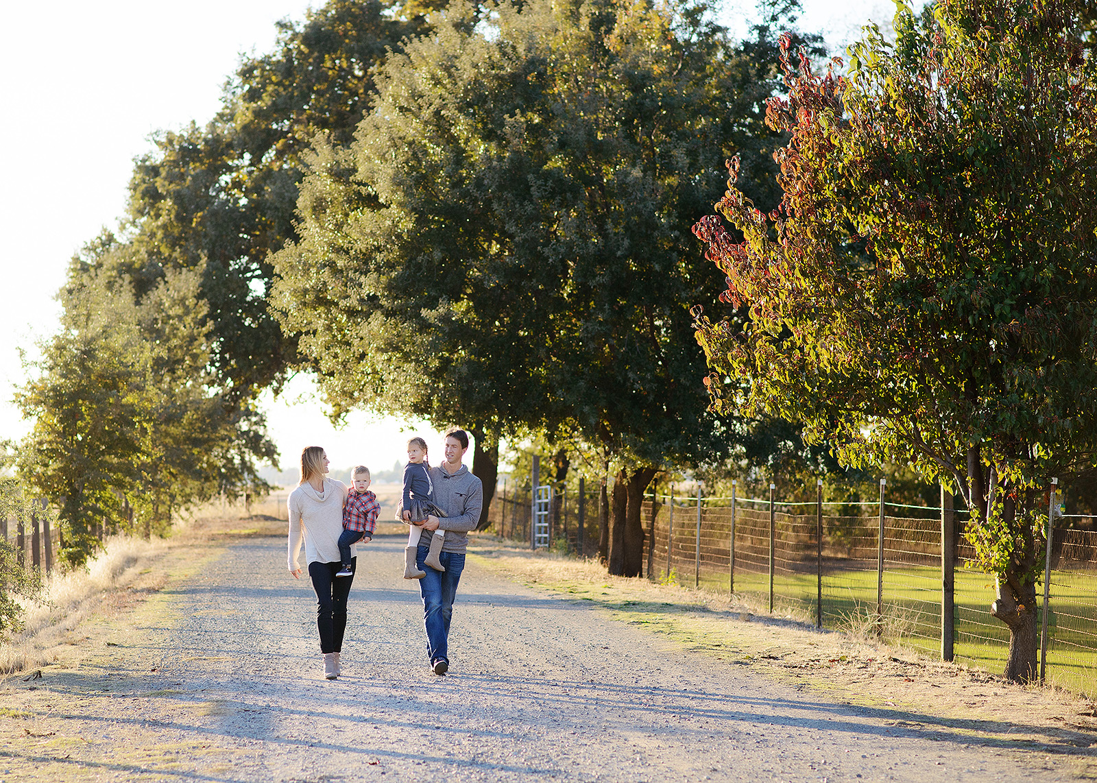 gibson ranch family portraits for fall photos with photographer jill carmel