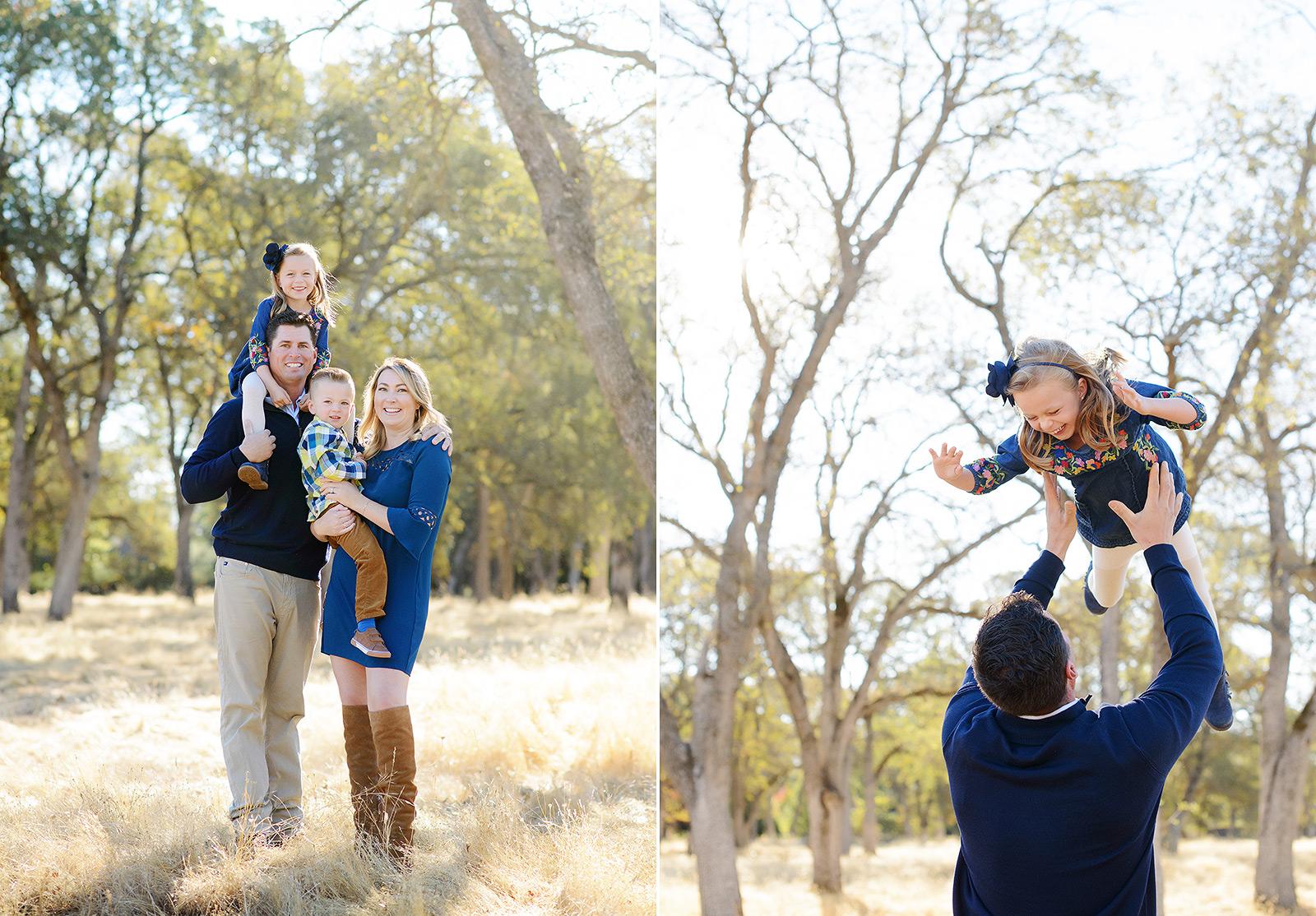 Fall Family Photos in Fair Oaks