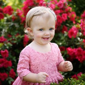 flower spring sacramento family pictures