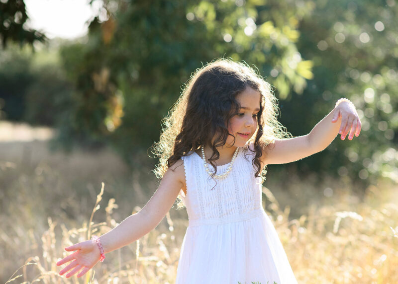 doing the twirl test means your little one will love her flowy dress